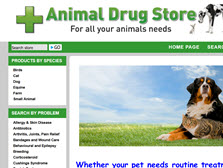 Animal drug store