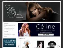 Celine Dion Boutique