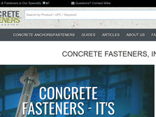 Concrete Fastening Systems Inc