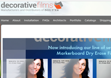 Decortaive film