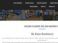 Encore Tools and Equipment Inc