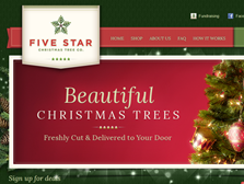 Five Star Christmas Trees