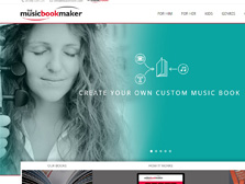 The Music Book Maker
