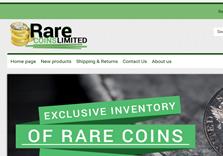 Rare Coins shop