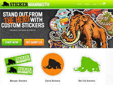 Sticker Mammoth