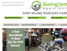 Swingem Again Golf LLC