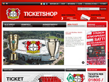 Bayer 04 Leverkusen Ticketwebshop (German)
