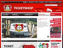 Bayer 04 Leverkusen Ticketwebshop (German)