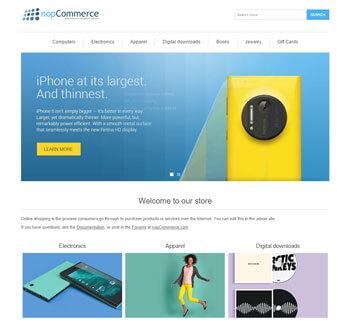 nopCommerce Demo Front End