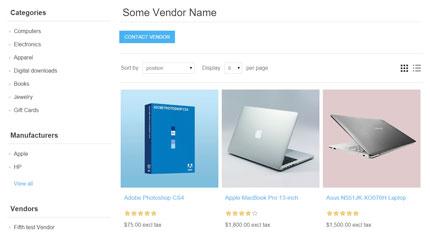multi-vendor and multi-store