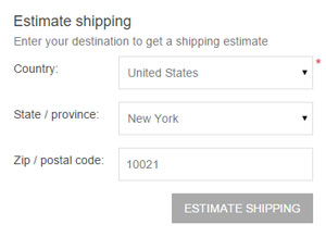 nopCommerce shipping