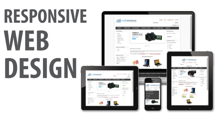responsive design in e-Commerce