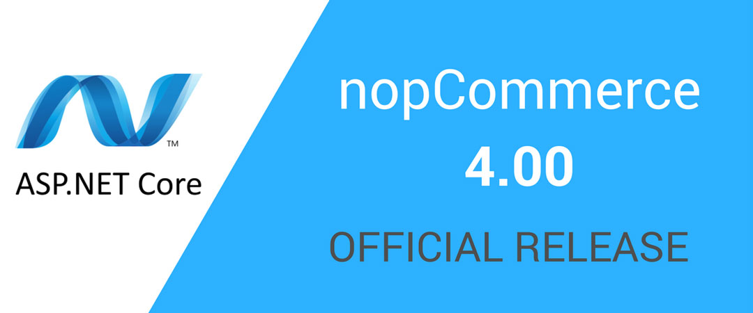 nopCommerce 4.00 is released