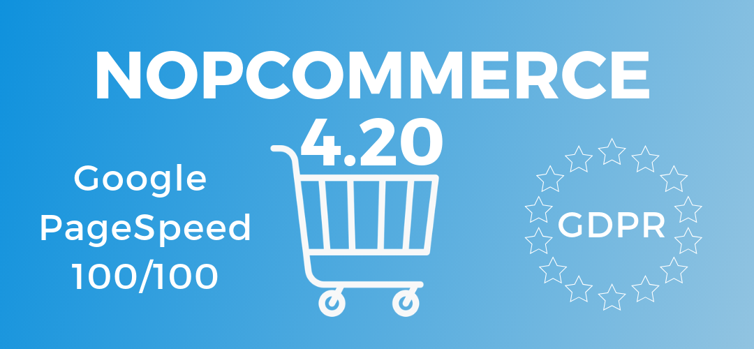 What changed in the admin area at nopCommerce 4.20