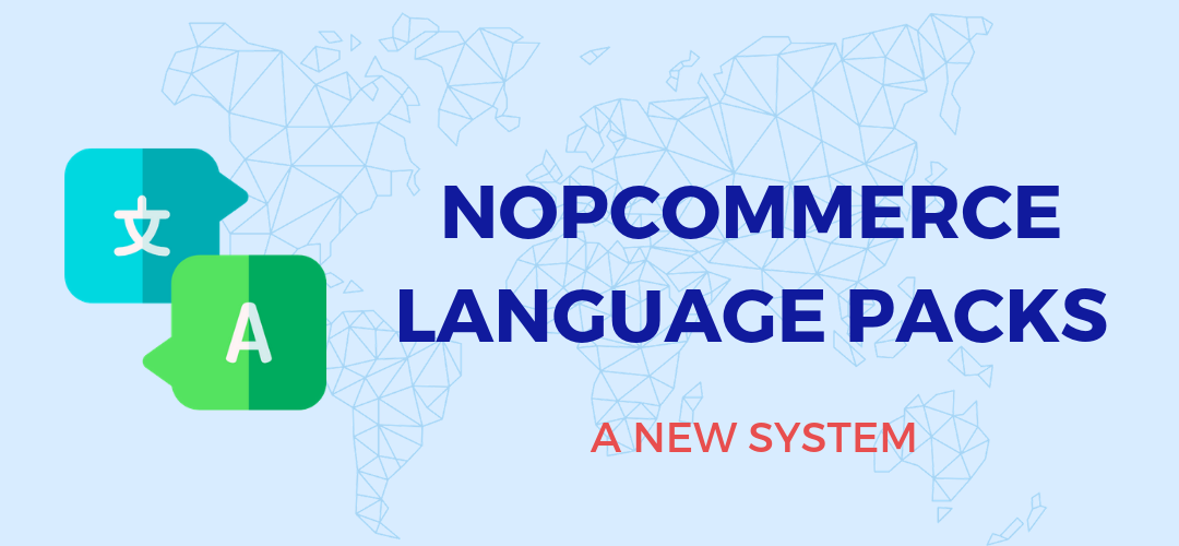 nopCommerce language packs: a new system