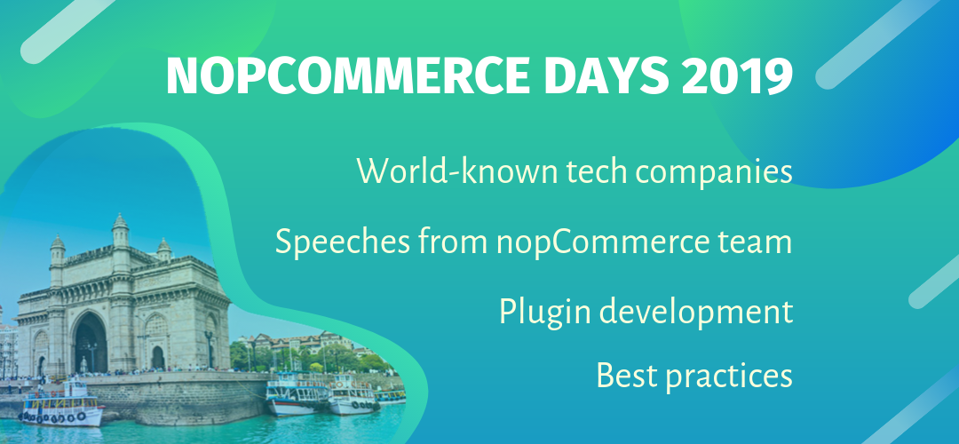 The future of nopCommerce firsthand & the best practices. nopCommerce Days program overview