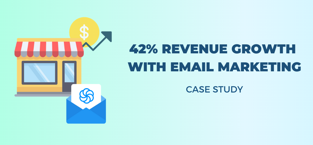 How an industry-leading eCommerce company grew revenue 42% withSendinblue