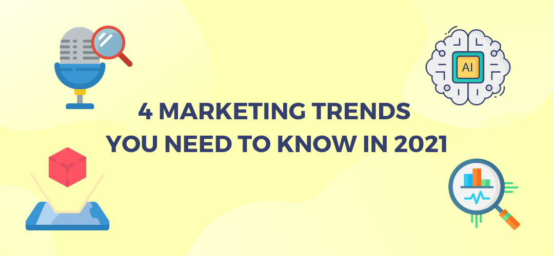 4 Marketing Trends You Need to Know in 2021