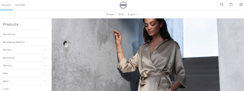Volvo Cars: catalog and prices setup by customer roles