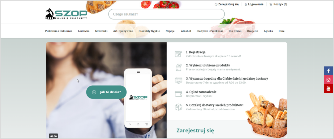 Szop: 70% increase in the number of orders after the store redesign