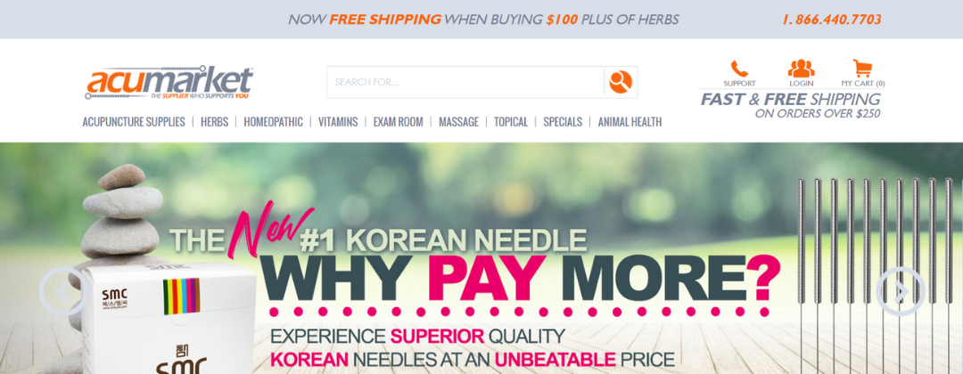 The new nopCommerce website for the US major medical supplier