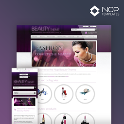 Picture of Nop Beauty Theme + 10 Plugins (Nop-Templates.com)