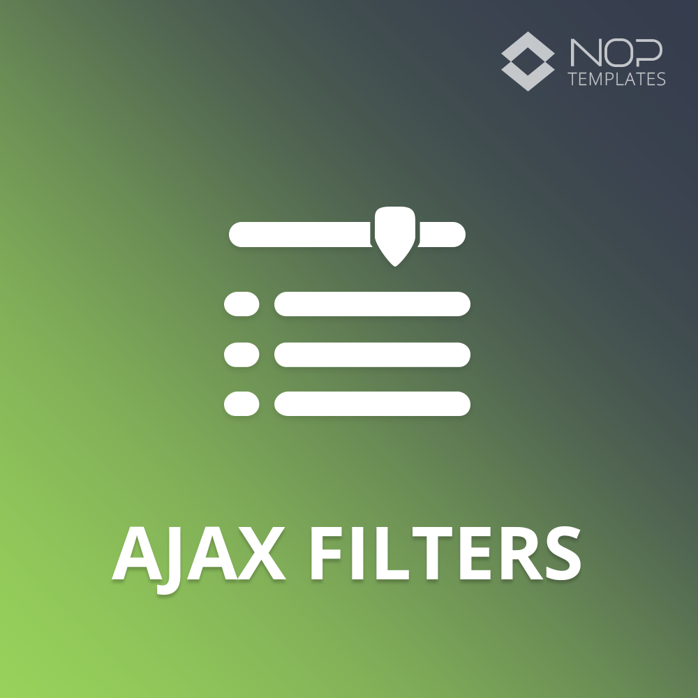 Picture of Nop Ajax Filters (Nop-Templates.com)