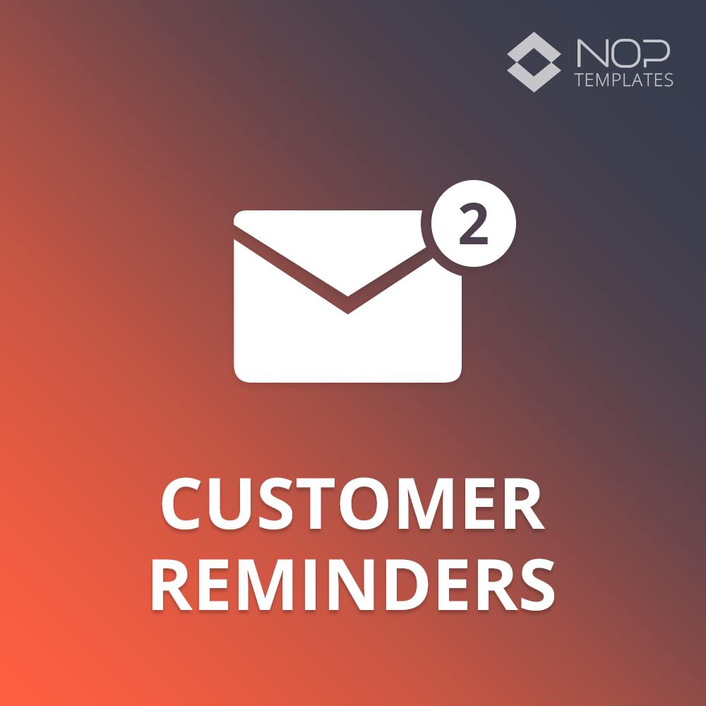 Picture of Nop Customer Reminders (Nop-Templates.com)