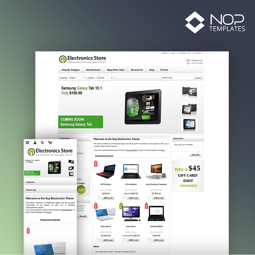 Picture of Nop Electronics Theme + 10 Plugins (Nop-Templates.com)