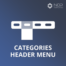 Imagen de Nop Categories Header Menu (Nop-Templates.com)