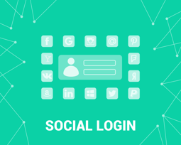 Picture of Social login via Facebook, Google (etc) (foxnetsoft.com)
