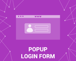 Picture of PopUp Login Form (foxnetsoft.com)