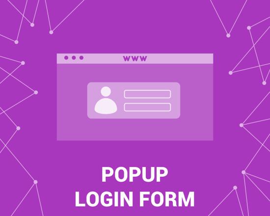 Picture of PopUp Login Form (foxnetsoft.com)