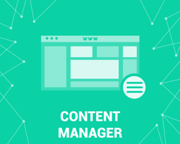 Bild von Content Manager (HTML, Youtube, images) (foxnetsoft.com)