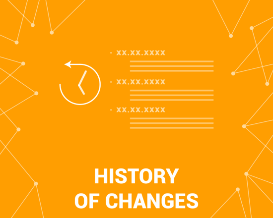 Picture of History of Changes (Audit Log) 3.0 (foxnetsoft.com)