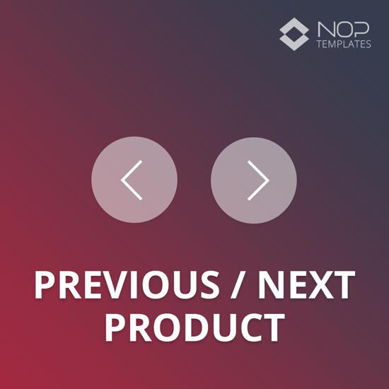 Picture of Nop Previous&Next Product (Nop-Templates.com)