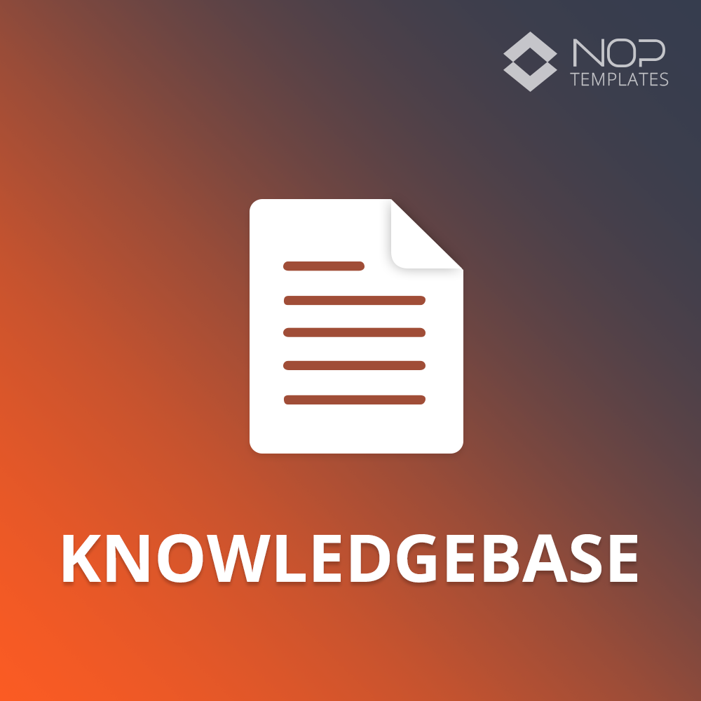Picture of Nop Knowledgebase (Nop-Templates.com)