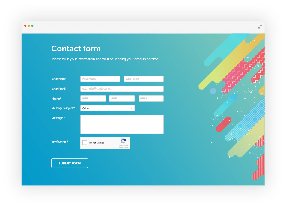 Picture of Dynamic Form Plugin (Plugin Contact Form)