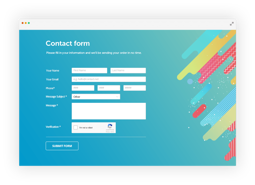 Imagem de Dynamic Form Plugin (Plugin Contact Form)