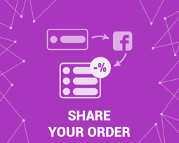 Picture of Share your order to Facebook 2.0 (foxnetsoft.com)