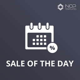 图片 Nop Sale Of The Day (Nop-Templates.com)