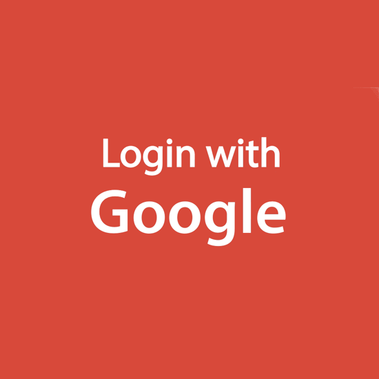 Picture of Google external authentication