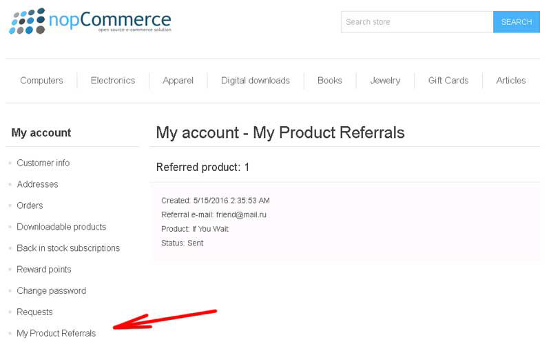 Picture of Product Referral Rewards (foxnetsoft.com)