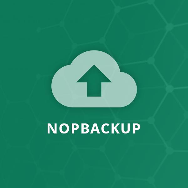 Picture of NopBackup Plugin