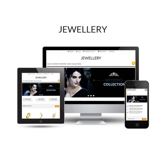 Picture of Jewellery Theme + 4 Plugins (by nopExtensions.com)