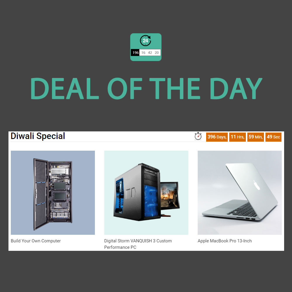 Picture of Deal of the Day Plugin (by nopExtensions.com)