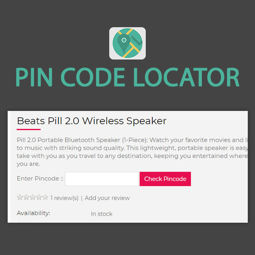 Picture of Pin Code Locator (by nopExtensions.com)
