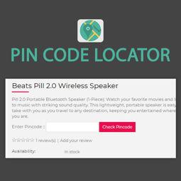 Imagem de Pin Code Locator (by nopExtensions.com)