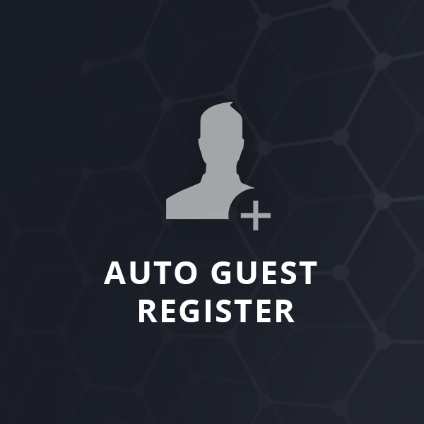 Picture of Auto Guest Register Plugin