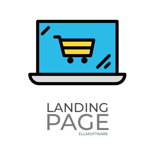 Picture of Landing Page (ellasoftware.com)